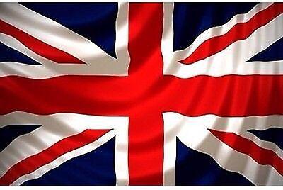Large 5 x 3 ft Union Jack UK Great Britain British Flag Team United Kingdom 75D