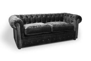 Grey Velvet Sofas