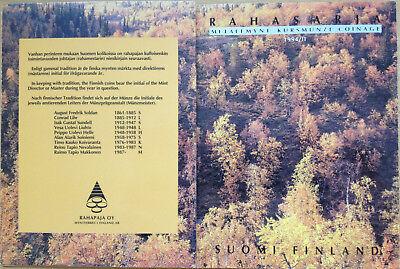 MDS FINNLAND MARKKAA KMS 1994 / II IM KLAPPFOLDER, RAR