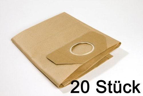 1 Rundfilter geeignet für Kärcher A 2534 PT 10-20-30 Vlies Staubsaugerbeutel
