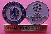 Chelsea Champions League Badge