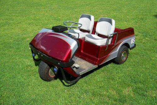 Top-5-Golf-Carts- Custom Paint Harley Davidson Golf Cart Html on