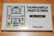 Game Watch Oil Panic