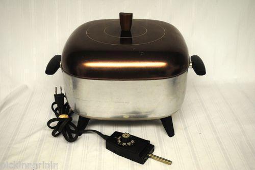 Vintage Electric Fry Pan Ebay