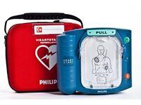 Heart Start HS1 Defibrillator AED Heartstart as new
