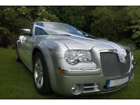 BEST PRICE FOR A CHAUFFEUR AND LUXURY 300C BABY BENTLEY FOR WEDDINGS ,BIRTHDAYS,SPECIAL OCCASIONS