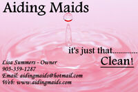 House Cleaner/Maid