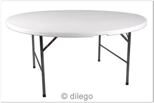 tisch rund klappbar ebay. Black Bedroom Furniture Sets. Home Design Ideas