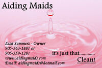 Hiring Part Time Maid/House Keeper