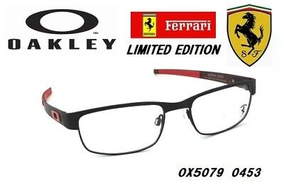 Oakley EYEGLASSES FRAMES SCUDERIA FERRARI CARBON PLATE OX5079-0453 Black RX 53M, used for sale  Shipping to Canada