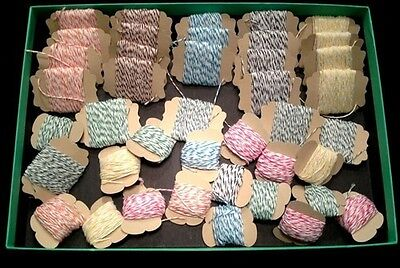 Bakers Twine 20 Yards - 10 Colors to Pick From - Can pick up to two colors/purch