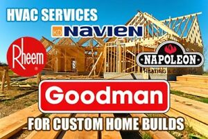 New Construction HVAC Solutions Custom Homes