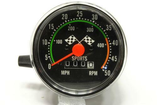 Vintage Bicycle Speedometer Ebay