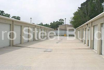 Duro Steel Mini Self Storage 30x160x9.5 Metal Prefab Building Structures Direct
