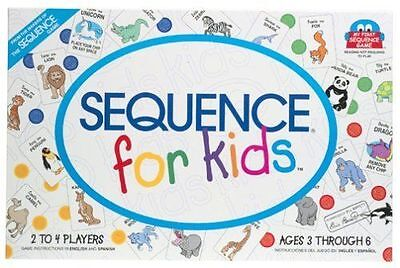 Sequence for Kids Board Game New, Free Shipping