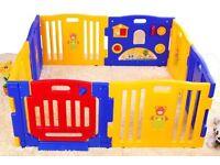 MCC Large foldable plastic baby playpen
