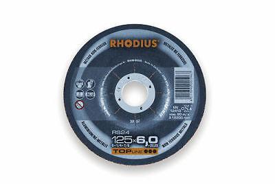 Rhodius Schruppscheibe RS 24 gekröpft 125 x 7,0 x 22,23 mm online kaufen