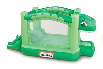 Little Tikes Dino BOUNCER, Outdoor Heavy Duty Kids INFLATABLE BOUNCE HOUSE