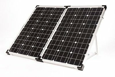 New Go Power! GP-PSK-120 Portable Folding Solar Power Charging Kit 120 Watt 6.7A
