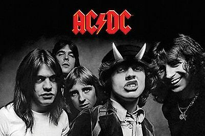 AC/DC - HIGHWAY TO HELL POSTER - 24x36 MUSIC 241336