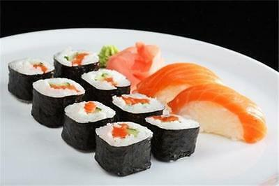 Japanese Sushi Bar Restaurant Business Marketing Plan Ms Word   Excel New