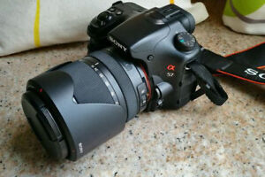 Sony SLT-A57 camera with DT 18-135mm lens