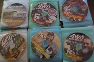 85 x 4x4 action dvd's