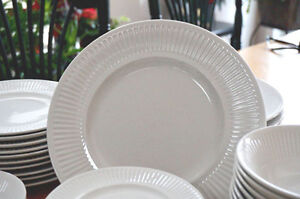 Classic Johnston Brothers Athena White Dinnerware