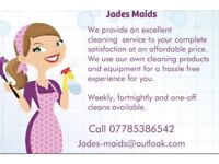 Jades Maids domestic cleaning service