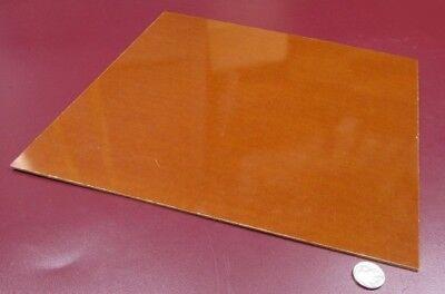 Garolite Micarta Linen Phenolic Le Grade Sheet .094 332 Thick X 12 X 12