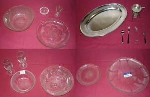 RESTAURANT / CATERING ITEMS - Serving Trays, Bowls, Mirror Trays