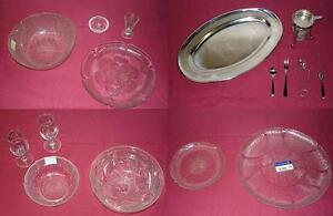 RESTAURANT/CATERING ITEMS - Serving Trays, Bowls, Mirror Trays