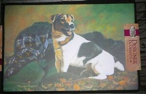 Jack Russell Terrier doormat, Parson Russell Terrier Door-Mat