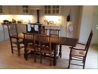 Large 8 person Dining Table