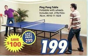 PING PONG Table -Brand new in box - $150
