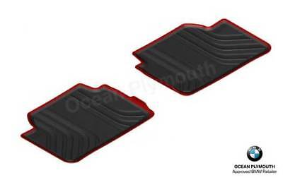 Genuine BMW All Weather  Rubber Rear Floor Mats   Sport   F30F31 51472219803