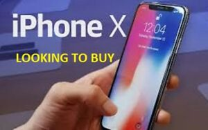 Looking to buy an iPhone X
