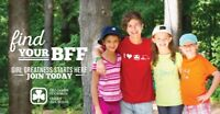 Girl Greatness Starts Here! ~ Girl Guide Registration Now 5+