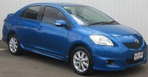 2010 Toyota Yaris NCP93R 08 Upgrade YRX Blue 4 Speed Automatic Sedan Kadina Copper Coast Preview