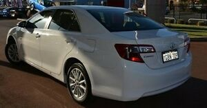2013 Toyota Camry ASV50R Altise White 6 Speed Sports Automatic Sedan Gosnells Gosnells Area Preview