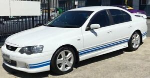 2004 Ford Falcon BA XR6 LOW KLMS White 4 Speed Auto Seq Sportshift Underwood Logan Area Preview