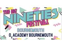The Big Nineties Festival 2 x tickets