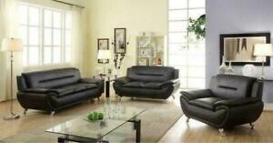 3 PC MODERN TWO TONE SOFA SET ( IN-STOCK ) $ 798
