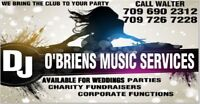 WEDDING MUSIC DJ SERVICES, ANY KIND OF PARTY WE BRING THE TUNES