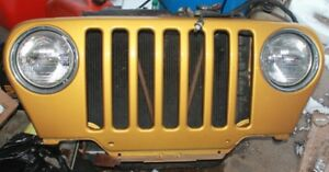 Jeep TJ Front Grills Red Green Black Gold
