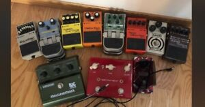 Effect Pedals Various