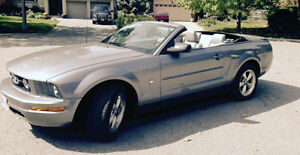 2007 Ford Mustang Pony Package Convertible