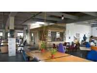 CREATIVE CO-WORKING AFFORDABLE DESK SPACE AVAILABLE IN HACKNEY WICK