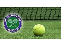 2x Wimbledon Men's Final tickets