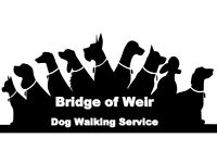 Bridge of Weir Dog Walking Services